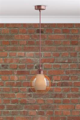 Подвесной светильник PND.111.01.01.028.AC с плафоном S.12.AM - фото 531968