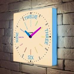 Световые часы BoxPop VII LB-507-35