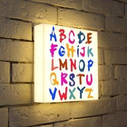 Лайтбокс Alphabet 2 25x25-004