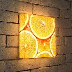Лайтбокс Апельсины 25x25-174