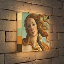 Лайтбокс Боттичелли Голова Венеры 25x25-153