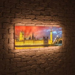 Лайтбокс панорамный Лондон 35x105-p003