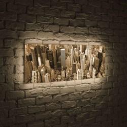Лайтбокс панорамный Манхеттен 35x105-p009