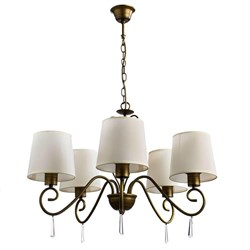 Подвесная люстра Arte Lamp Carolina A9239LM-5BR