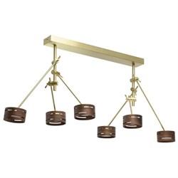 Подвесная светодиодная люстра De Markt Чил-аут 725010406