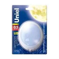 Настенный светодиодный светильник (02742) Uniel DTL-303-Круг/White/3Led/0,5W