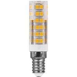 Лампа светодиодная Feron E14 7W 4000K прозрачная LB-433 25899