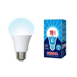 Лампа светодиодная Volpe E27 9W 4000K матовая LED-A60-9W/4000K/E27/FR/NR UL-00005623