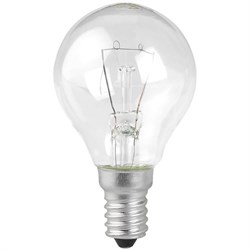 Лампа накаливания ЭРА E14 40W 2700K прозрачная ЛОН ДШ40-230-E14-CL C0039814