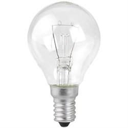 Лампа накаливания ЭРА E14 60W 2700K прозрачная P45-60W-E14/ДШ 230-60 Е 14 (гофра) Б0033704