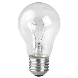 Лампа накаливания ЭРА E27 75W 2700K прозрачная A50 75-230-Е27-CL Б0039123