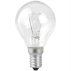 Лампа накаливания ЭРА E14 60W прозрачная ДШ 60-230-E14-CL Б0039138