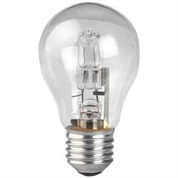 Лампа галогенная ЭРА E27 50W прозрачная HAL-A55-50W-230V-E27-CL C0038549