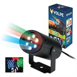 Светодиодный светильник-проектор (UL-00001188) ULI-Q306 4W/RGB BLACK XMAS