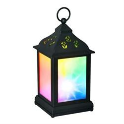 Переносной светодиодный фонарь (UL-00002311) Uniel 110х220 ULD-L1122-010/DTB/RGB/3D Black