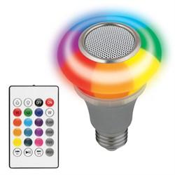 Светодиодный светильник-проектор Volpe Disko ULI-Q340 5W/RGB/E27 Silver UL-00003997