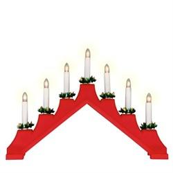 Фигурка «Новогодняя горка» 30х41см (UL-00007387) Uniel UDL-L7101-007/SWA/WW Red Bridge