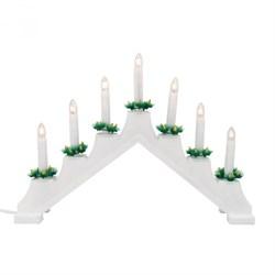 Фигурка «Новогодняя горка» 30х41см (UL-00007388) Uniel UDL-L7101-007/SWA/WW White Bridge