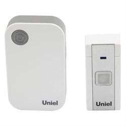 Звонок электронный (UL-00006436) Uniel UDB-091W-R1T1-36S-WH