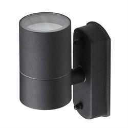 Уличный настенный светильник ЭРА Design WL27 BK Б0034628