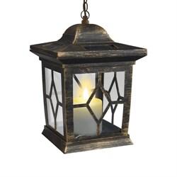 Подвесной светильник на солнечных батареях Uniel USL-S-180/PT220 Bronze lantern 10227