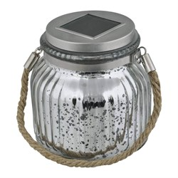 Светильник на солнечных батареях (UL-00003209) Uniel Modern USL-M-211/GN120 Silver Jar
