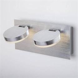 Настенный светильник Eurosvet 20004/2 алюминий