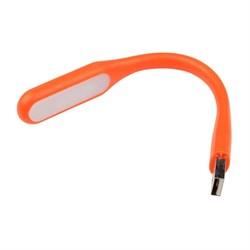 Переносной светодиодный фонарь Uniel Usb-зарядка 170х15 260 лм TLD-541 Orange UL-00000252