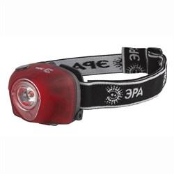 Налобный светодиодный фонарь ЭРА от батареек 68 лм GB-502 Б0036615
