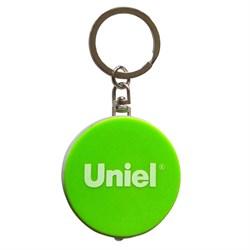 Фонарь-брелок светодиодный Uniel Standard Mini от батареек 47х40 S-KL022-T Green UL-00004098