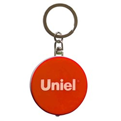 Фонарь-брелок светодиодный Uniel Standard Mini от батареек 47х40 S-KL022-T Orange UL-00004099