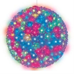 Подвесной светильник «Шар с цветами сакуры» d=27см (09577) Uniel ULD-H2727-300/DTA RGB IP20