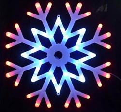 Подвесной светодиодный светильник «Снежинка » (UL-00001403) Uniel ULD-H4040-048/DTA MULTI IP20 SNOWFLAKE