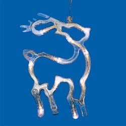Подвесной светодиодный светильник «Олень» (UL-00007252) Uniel ULD-H1419-010/STA/3AAA Warm White IP20 Deer