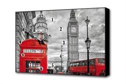Настенные часы Красная будка Timebox Toplight 37х60х4см TL-C5011