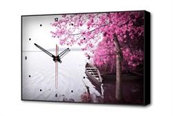 Настенные часы Одинокая лодка Timebox Toplight 37х60х4см TL-C5025