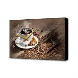 Настенные часы Черный кофе Timebox Toplight 37х60х4см TL-C5021