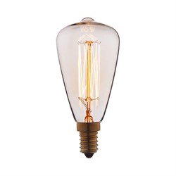 Лампа накаливания E14 40W прозрачная 4840-F