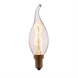 Лампа накаливания E14 40W прозрачная 3540-TW