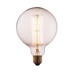 Лампа накаливания E27 40W прозрачная G12540