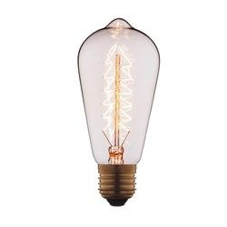 Лампа накаливания E27 60W прозрачная 6460-S