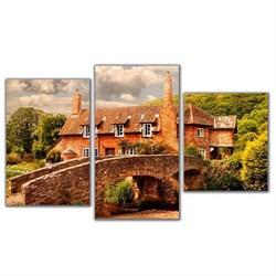 Мини модульная картина Каменный мост Toplight 55х94см TL-MM1031