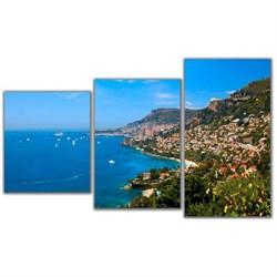 Мини модульная картина Монте Карло Toplight 55х94см TL-MM1002