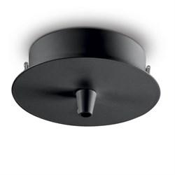 Основание для светильника Ideal Lux Rosone Metallo 1 Luce Nero 123295