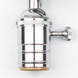 Ретро патрон E27 Хром Loft IT LD4002-7
