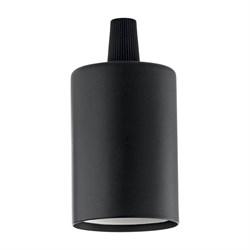 Патрон Ideal Lux Portalampada E27 Liscio Nero 242576