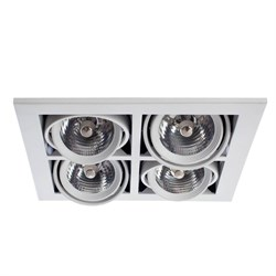 Встраиваемый светильник Arte Lamp Cardani A5930PL-4WH