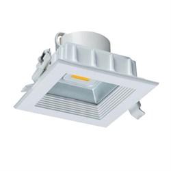 Светодиодный встраиваемый светильник Uniel 4200K ULT-D02B-8W/NW 08577