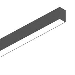 Подвесной светодиодный светильник Ideal Lux Fluo Bi-Emission 1800 4000K Bk 192642