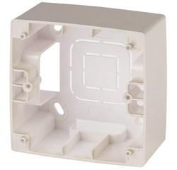 Коробка для накладного монтажа 1-постовая ЭРА 12 12-6101-04 Б0043163